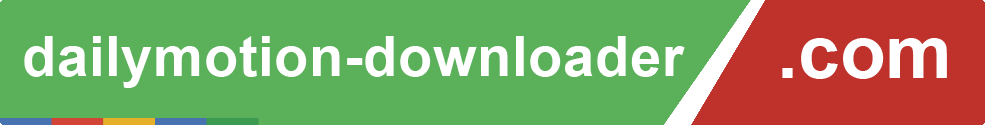 Online Dailymotion Video Downloader